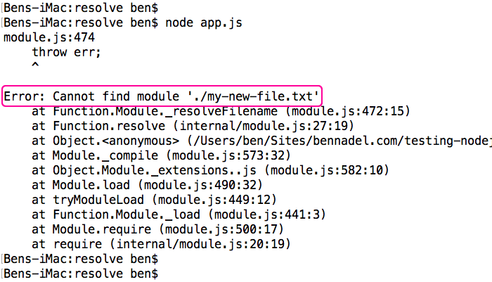 Using require resolve() To Calculate Module-Relative File Paths In