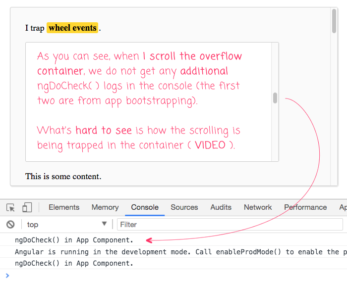 Prevent Scrolling In A Parent Element Using Directives In