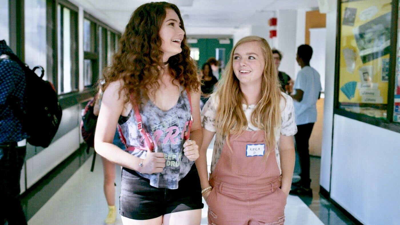 Eigth Grade with Elsie Fisher and Emily Robinson.