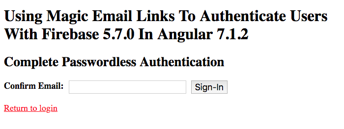 Using Magic Email Links To Authenticate Users With Firebase
