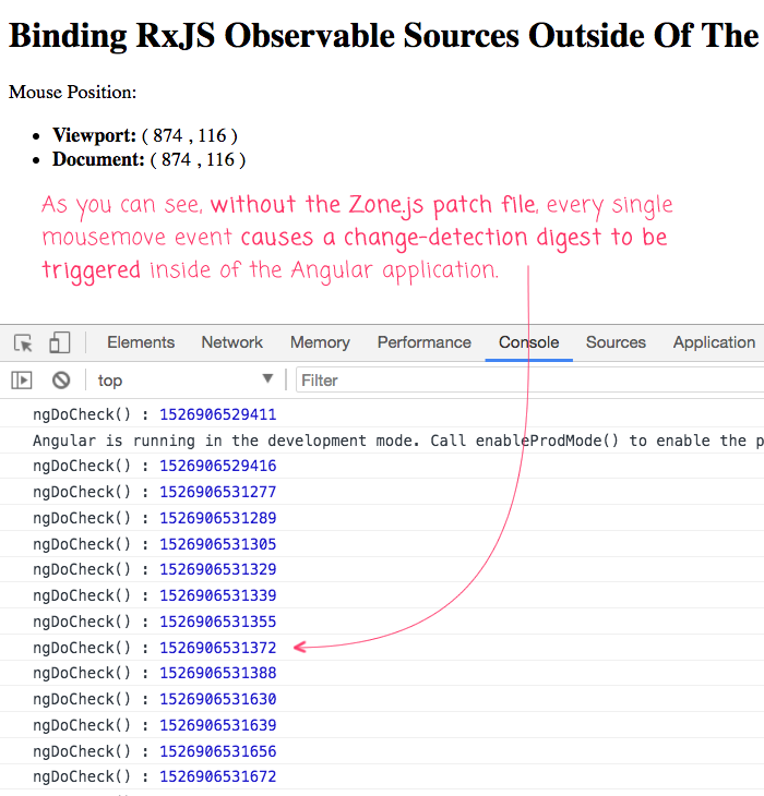 Binding RxJS Observable Sources Outside Of The NgZone In