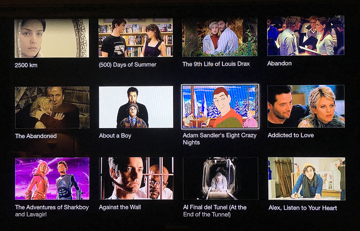 The user experience (UX) of the HBO GO app on Apple TV.