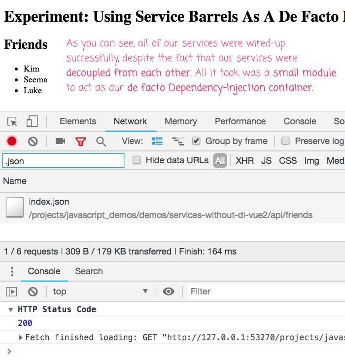 Experiment: Using Service Barrels As A De Facto Dependency